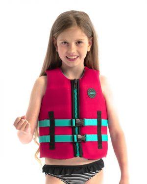 Jobe Neopren Schwimmweste Kinder Pink