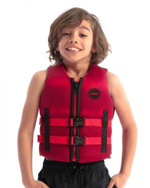 Jobe Neopren Schwimmweste Kinder Rot